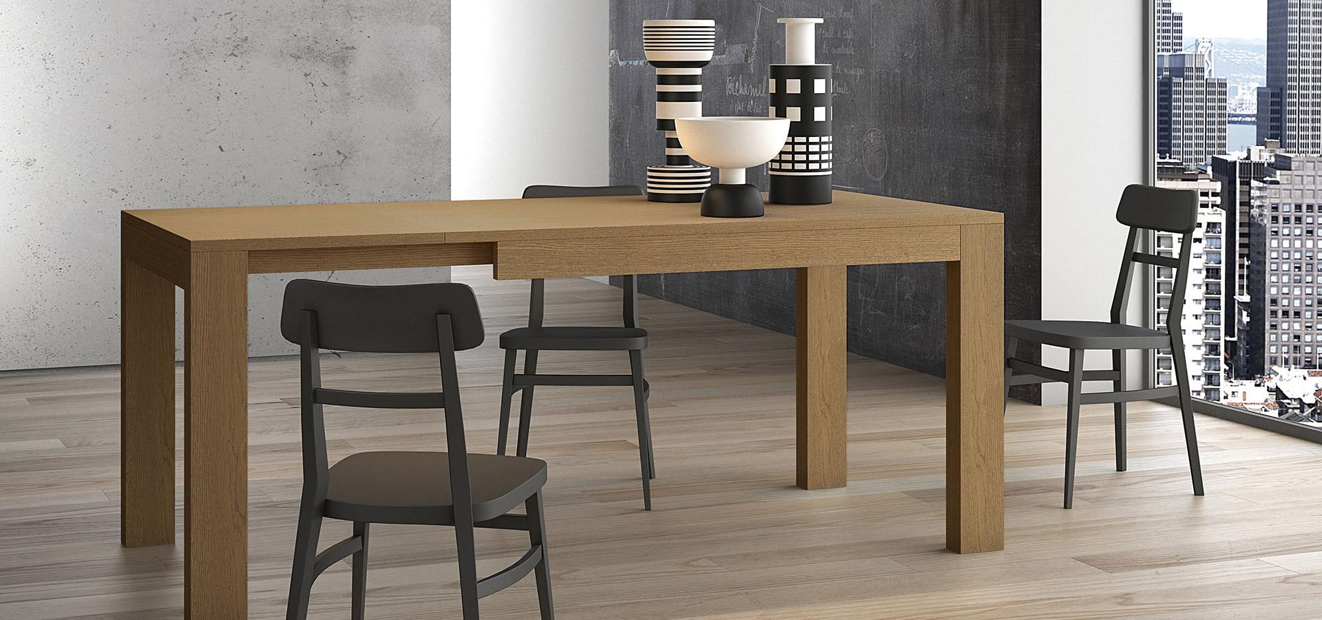 Arredamenti gallomobili mobili udine tavoli legno tavoli allungabili moderni - Seggiolini da tavolo prezzi ...