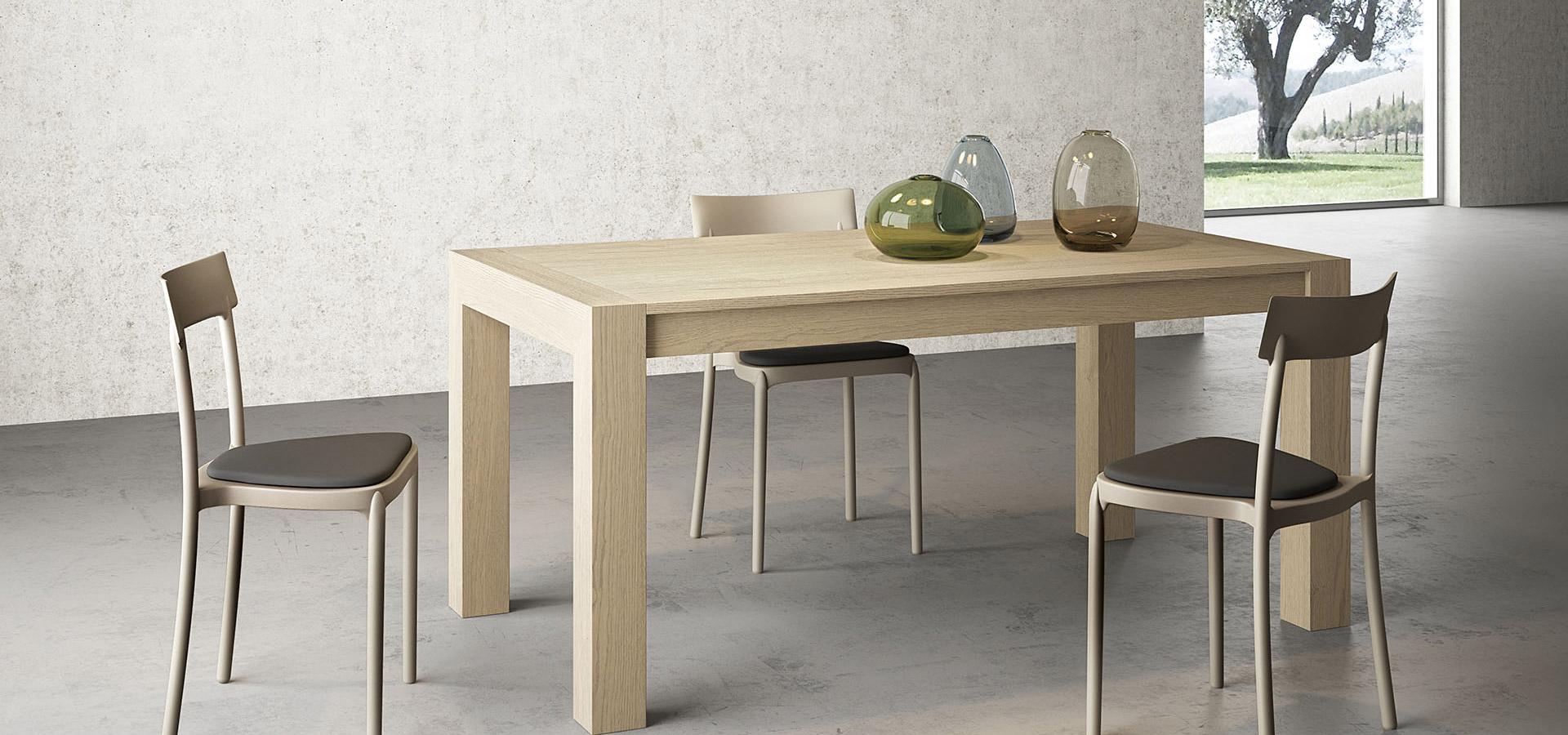 Arredamenti gallomobili mobili udine tavoli legno for Tavoli in legno moderni allungabili