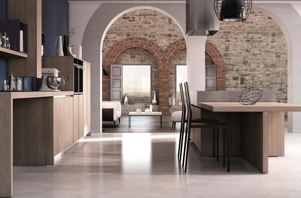 Arredamenti Gallomobili Mobili Udine - Cucine Moderne - Cucina Creta