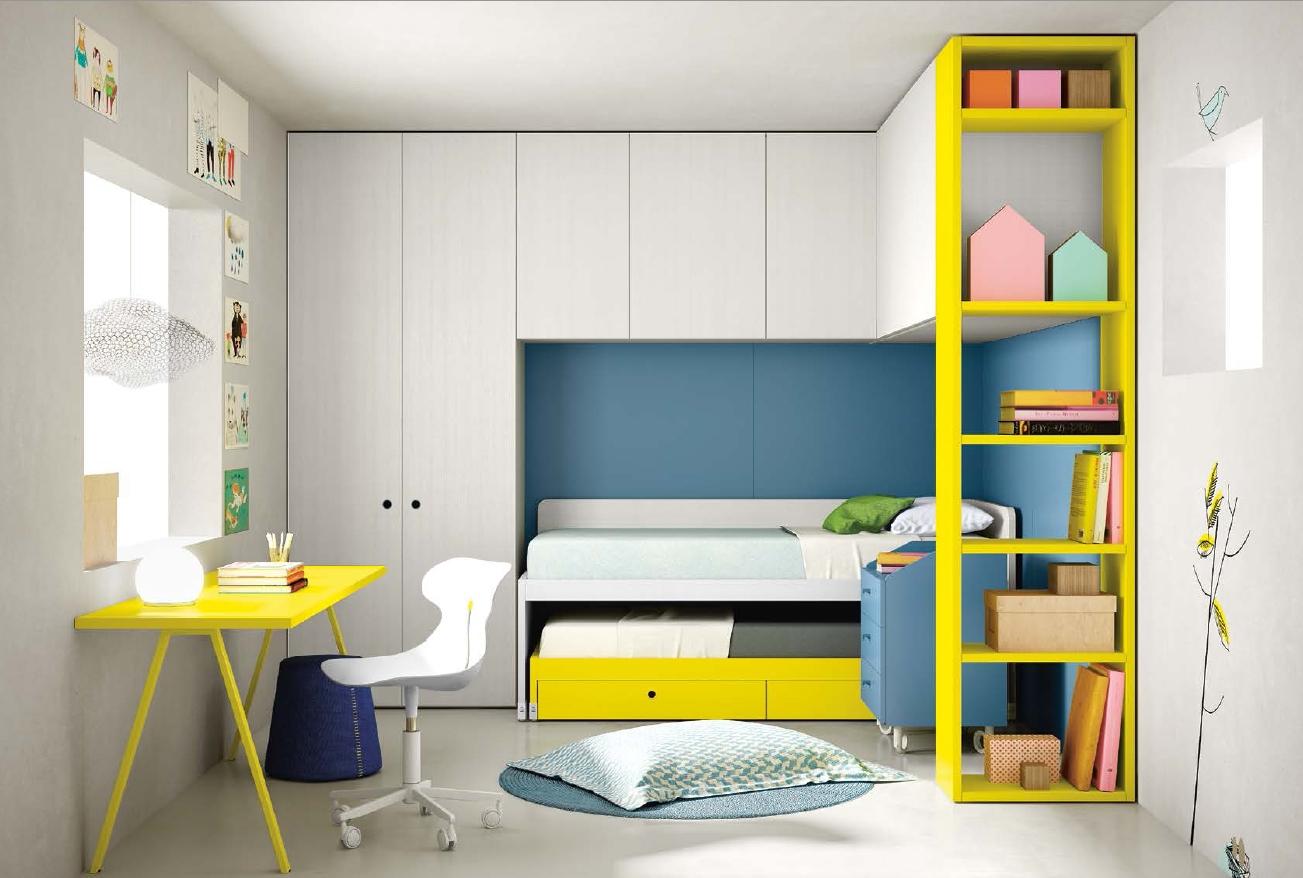 Arredamenti gallomobili mobili udine camere bambini nidi for Battistella mobili