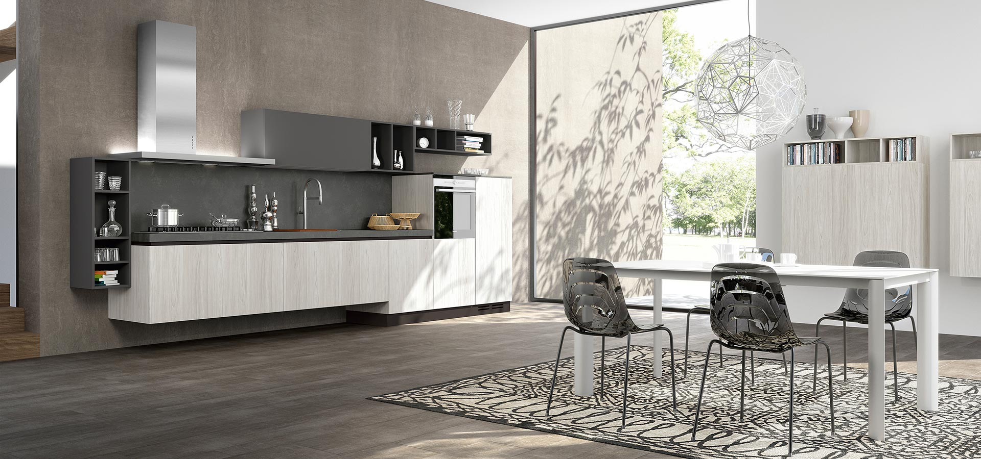 Arredamenti Gallomobili Mobili Udine - Cucine Moderne - Cucina Linea ...