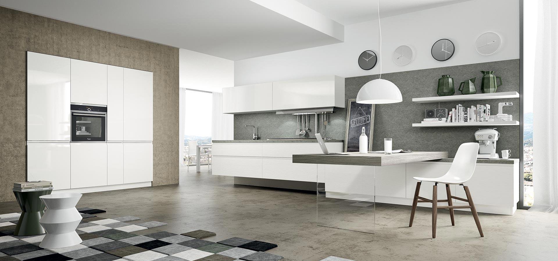 Arredamenti Gallomobili Mobili Udine - Cucine Moderne - Cucina Wega